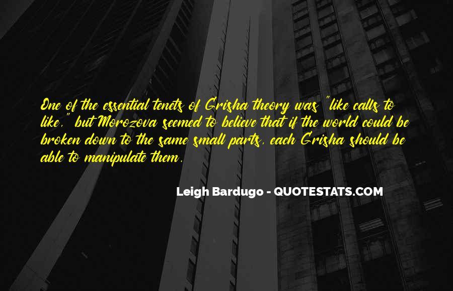 Grisha Quotes #891376