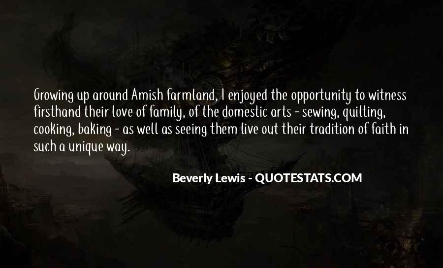 Growing Up Amish Quotes #19522