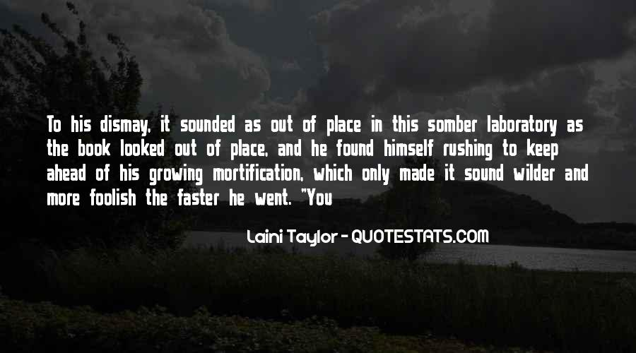 Growing Up Faster Quotes #1488085