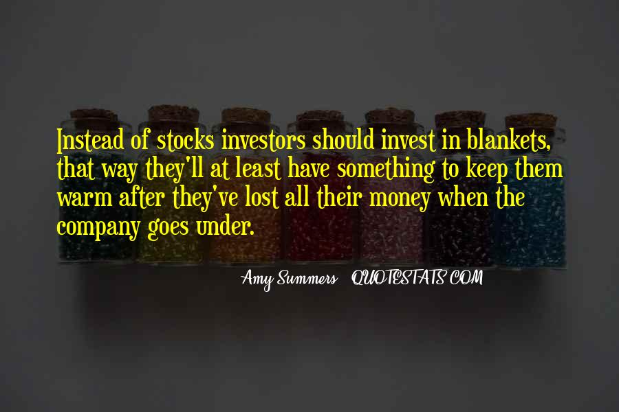Quotes About Funny Investors #840733