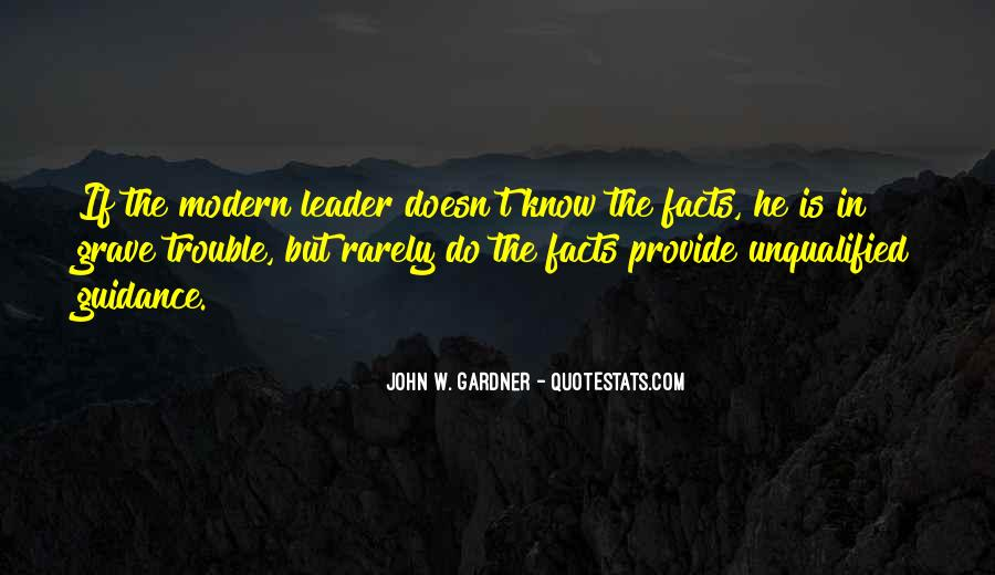 Guidance And Leadership Quotes #1208615