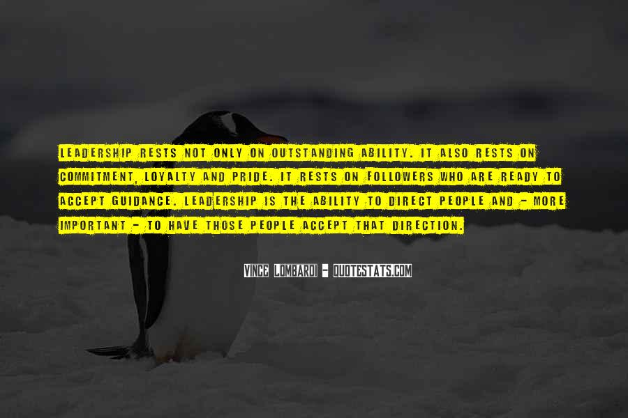 Guidance And Leadership Quotes #1391565