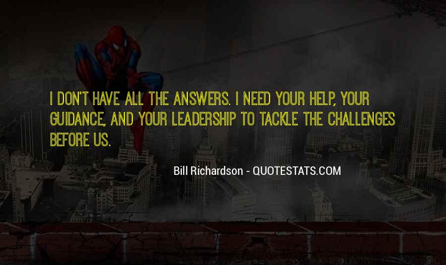 Guidance And Leadership Quotes #152221