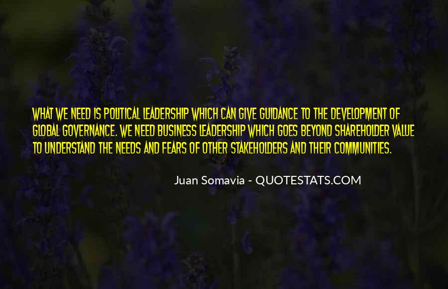 Guidance And Leadership Quotes #1866689