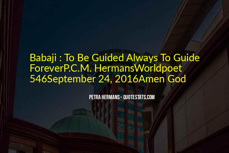 Guided By God Quotes #1262554