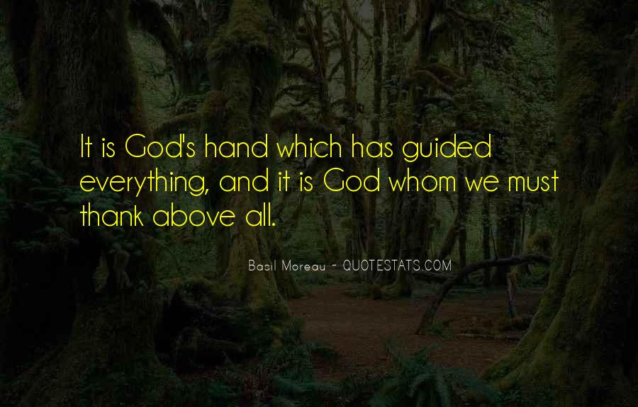 Guided By God Quotes #135606