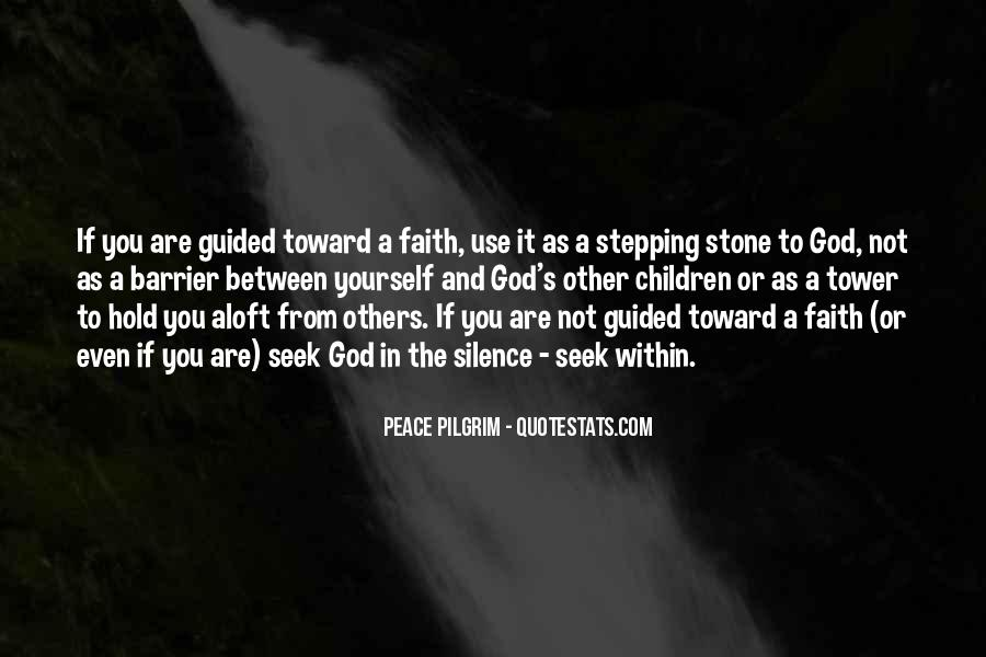 Guided By God Quotes #1463577