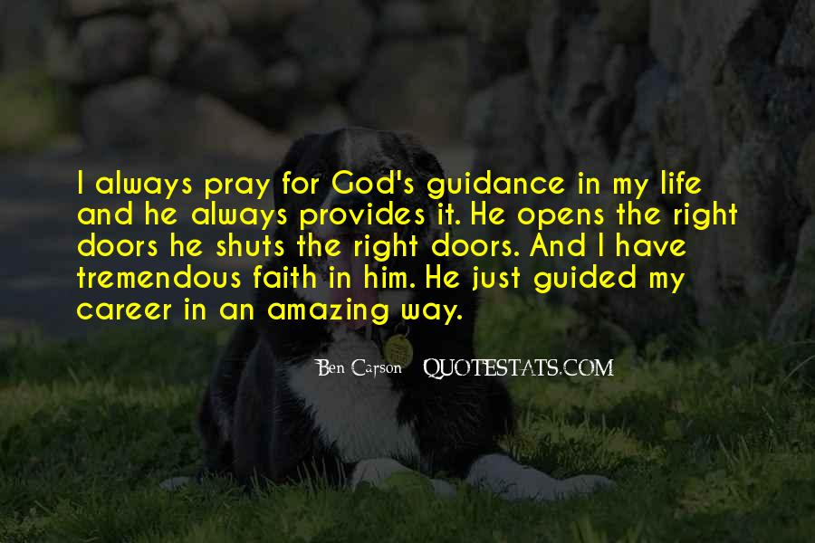 Guided By God Quotes #1739986