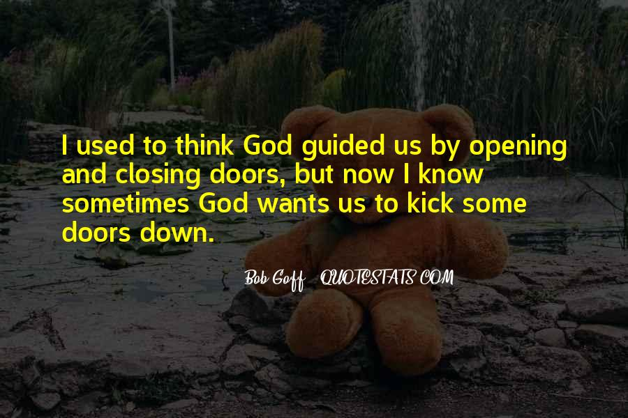 Guided By God Quotes #328600