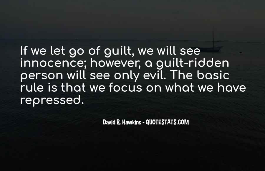 Guilt Ridden Quotes #1248983