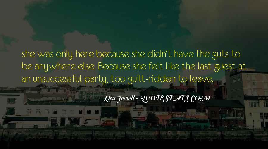 Guilt Ridden Quotes #135488