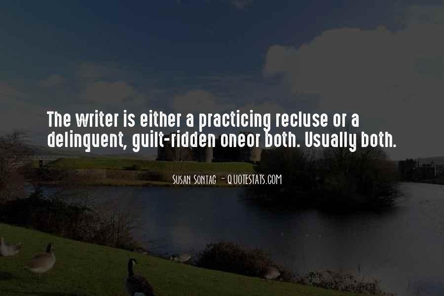 Guilt Ridden Quotes #1416157