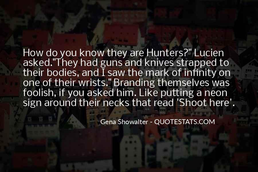 Quotes About Funny Hunters #1087478