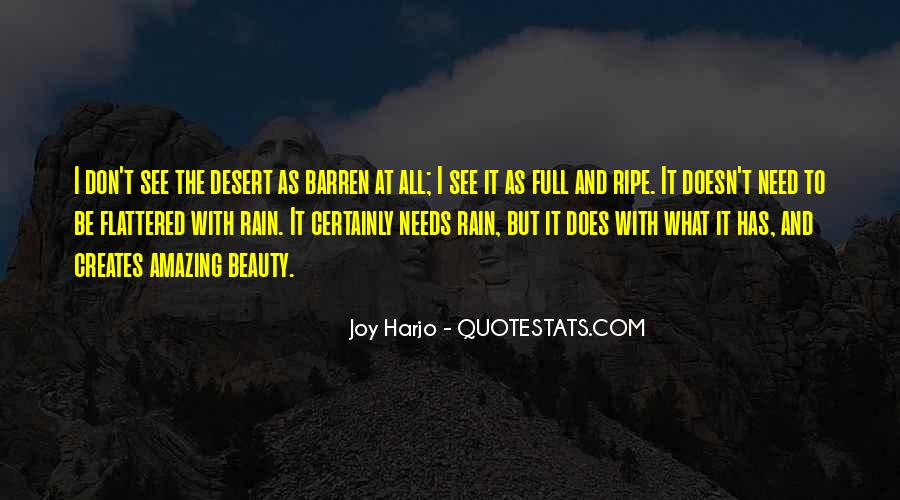 Quotes About The Desert Beauty #1040710