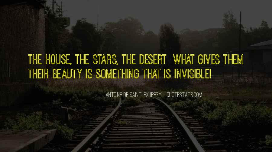 Quotes About The Desert Beauty #587404