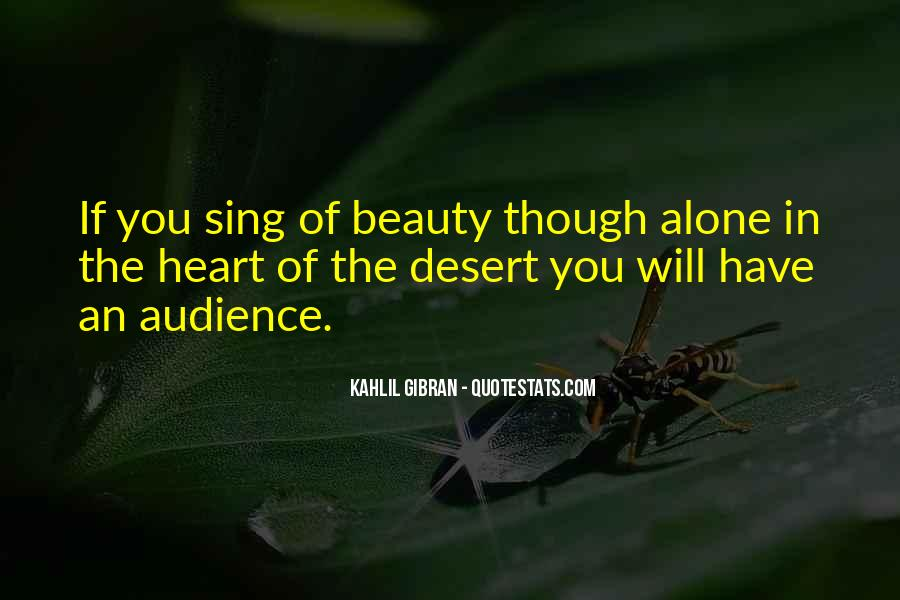 Quotes About The Desert Beauty #772836