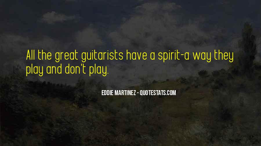 Quotes About Funny Guitarists #372215