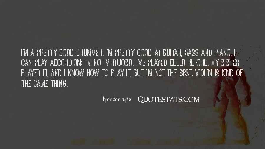 Quotes About Funny Guitarists #710936