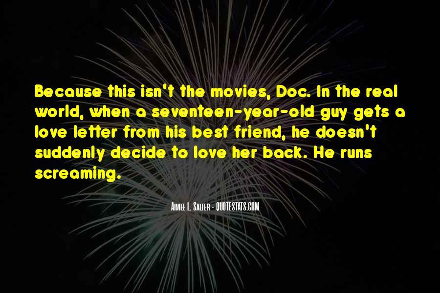 Guy Best Friend Love Quotes #773885