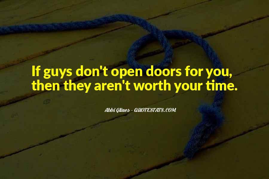 Guys Aren't Worth It Quotes #1359948