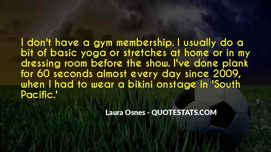 Gym Membership Quotes #1368465