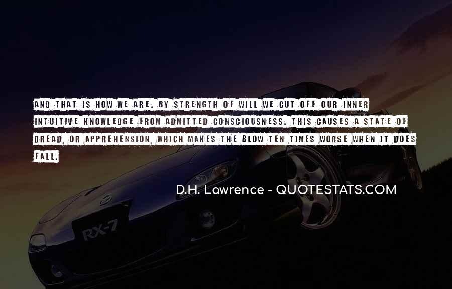 H D Lawrence Quotes #117234