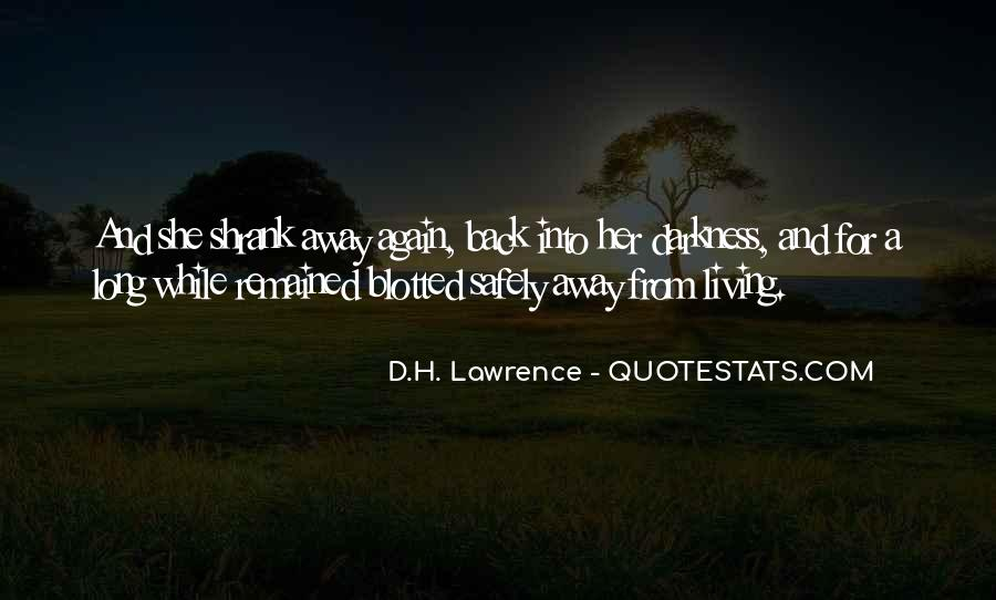 H D Lawrence Quotes #14032