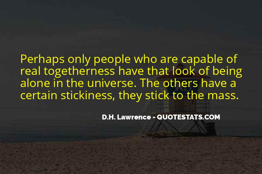 H D Lawrence Quotes #158811