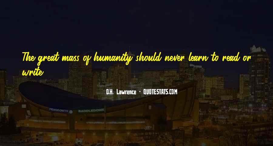 H D Lawrence Quotes #159289