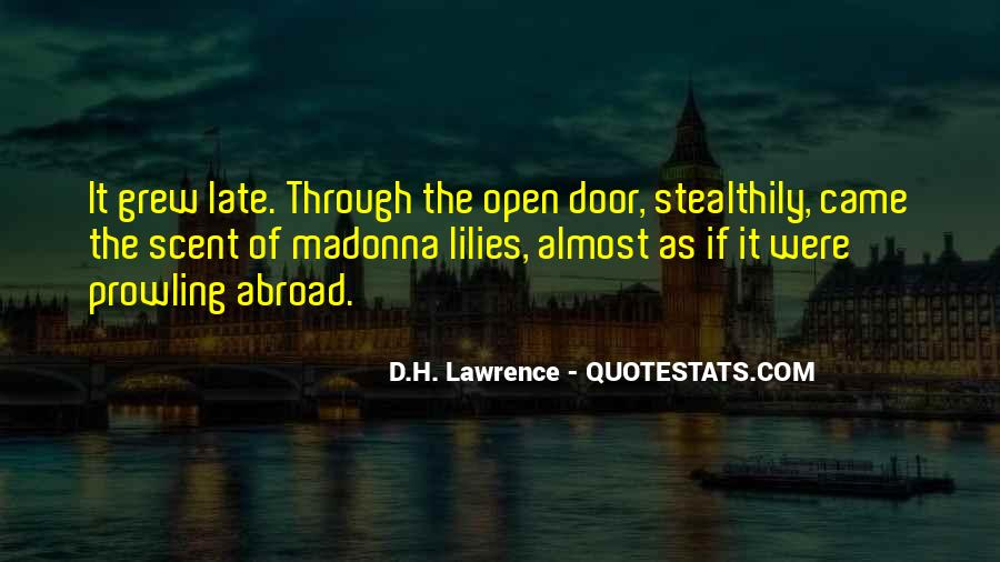 H D Lawrence Quotes #178103