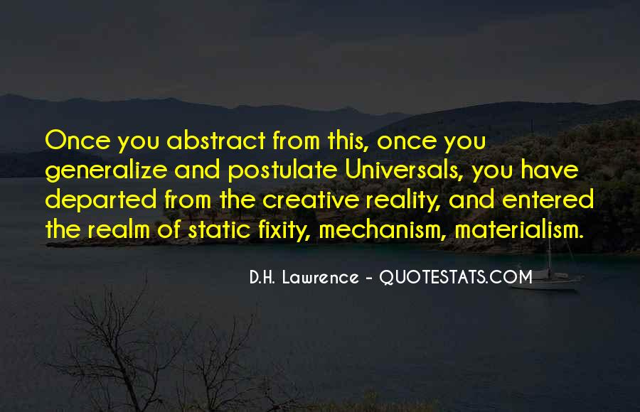 H D Lawrence Quotes #184131