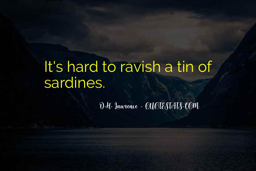H D Lawrence Quotes #198467