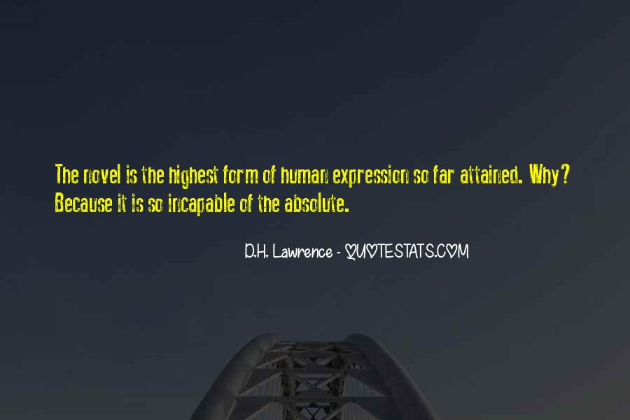 H D Lawrence Quotes #27179