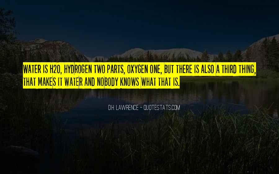 H D Lawrence Quotes #40689