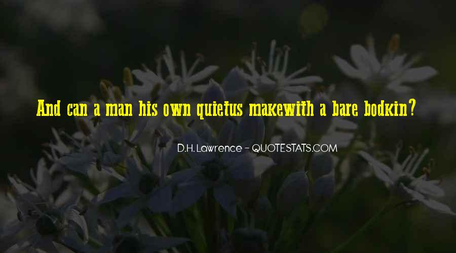 H D Lawrence Quotes #43799