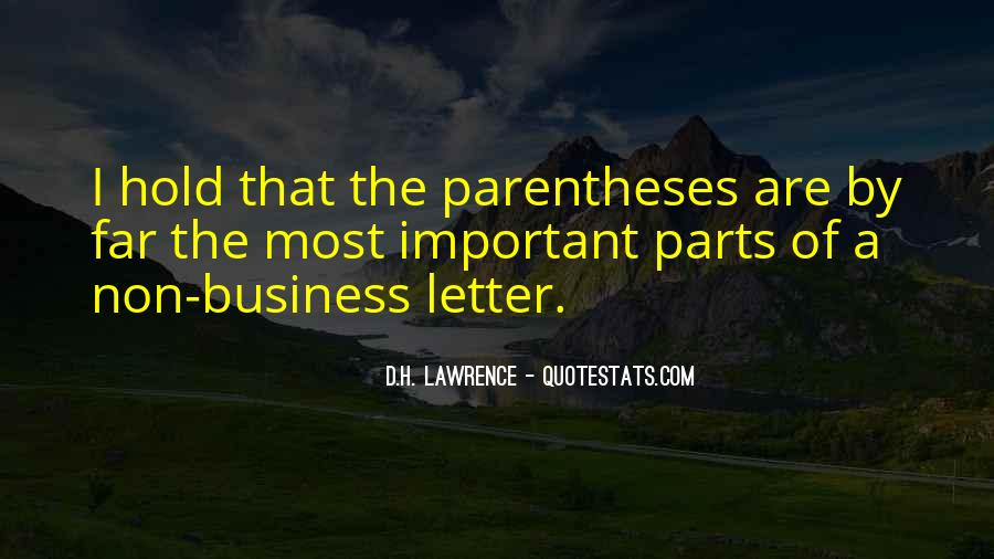 H D Lawrence Quotes #44351