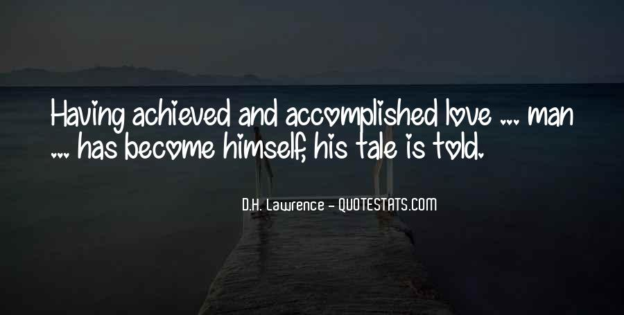 H D Lawrence Quotes #48618