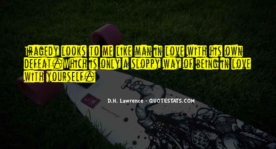H D Lawrence Quotes #51041