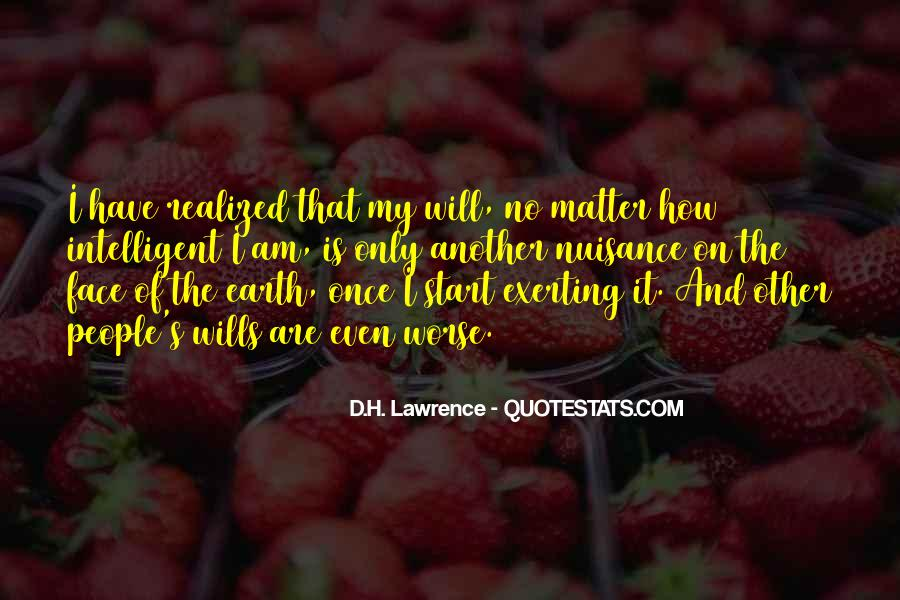 H D Lawrence Quotes #72609