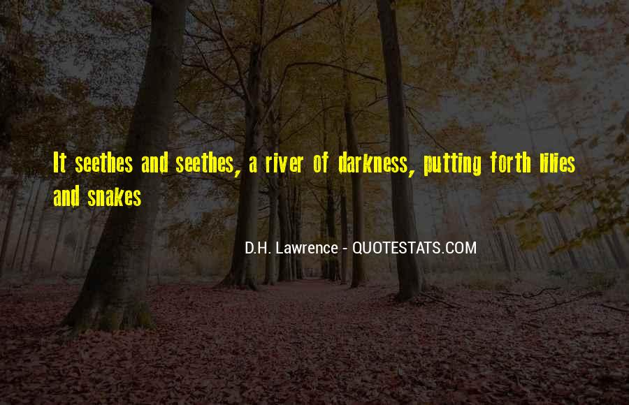 H D Lawrence Quotes #77439