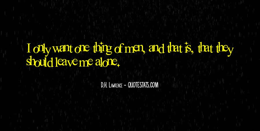 H D Lawrence Quotes #78319