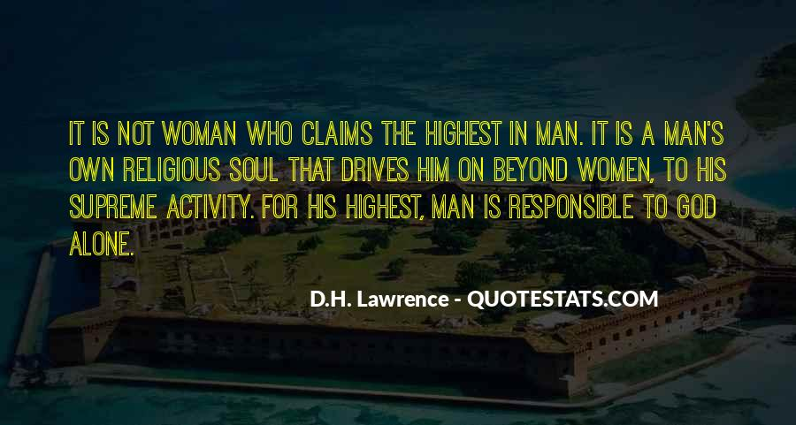 H D Lawrence Quotes #80521