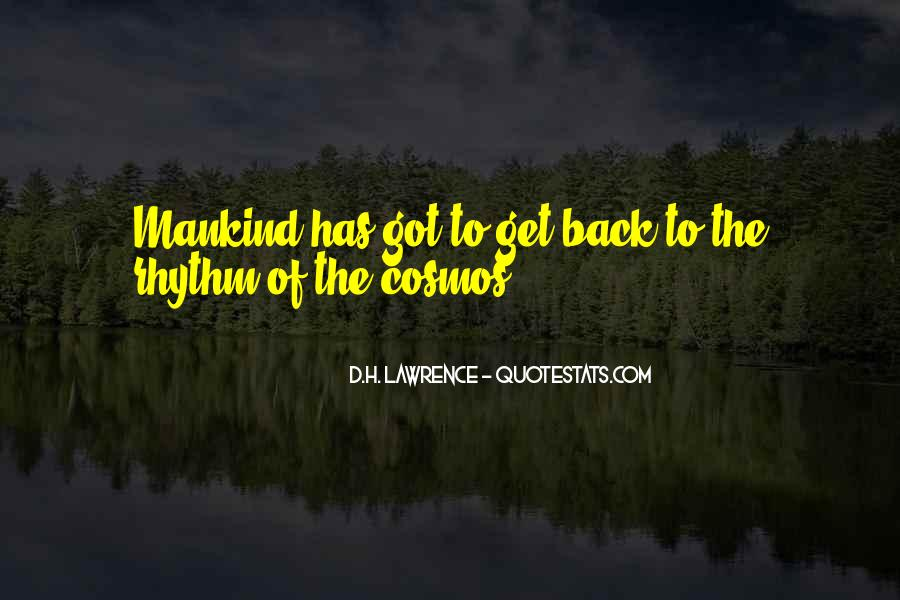 H D Lawrence Quotes #81471