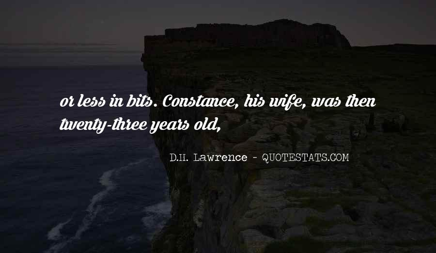 H D Lawrence Quotes #81694