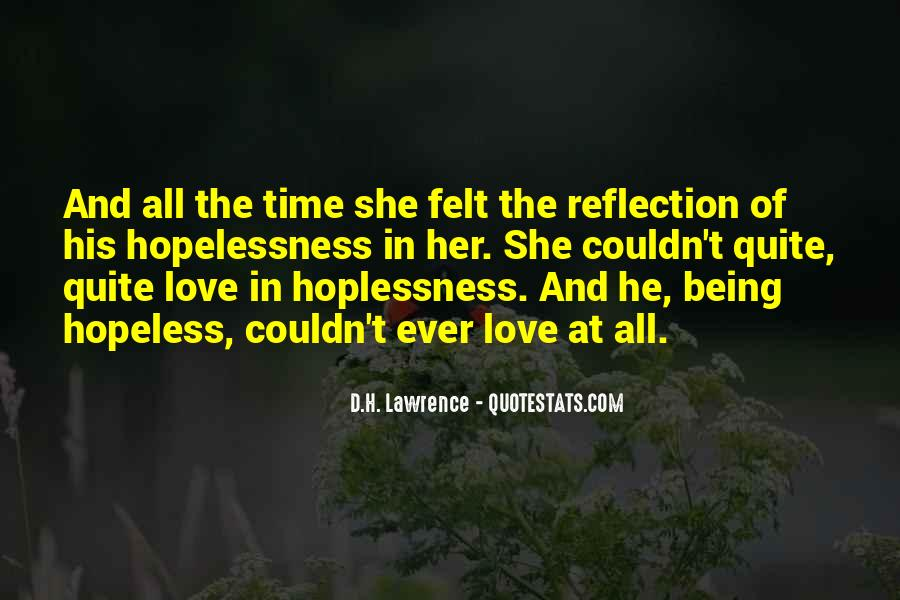 H D Lawrence Quotes #85053
