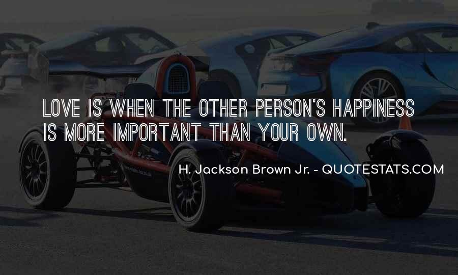H Jackson Brown Love Quotes #1215340
