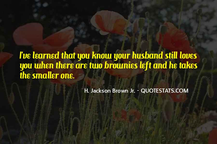 H Jackson Brown Love Quotes #754709