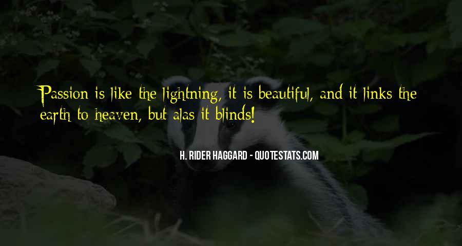 H Rider Haggard She Quotes #445041