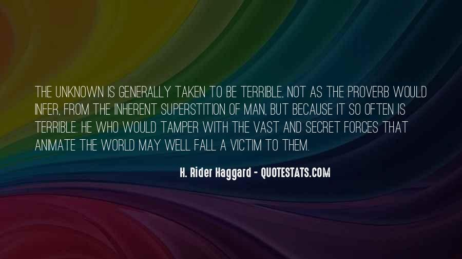 H Rider Haggard She Quotes #558166