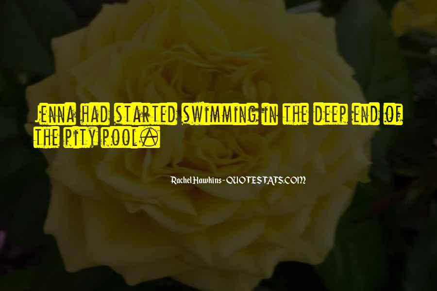 Quotes About The Deep End #110064